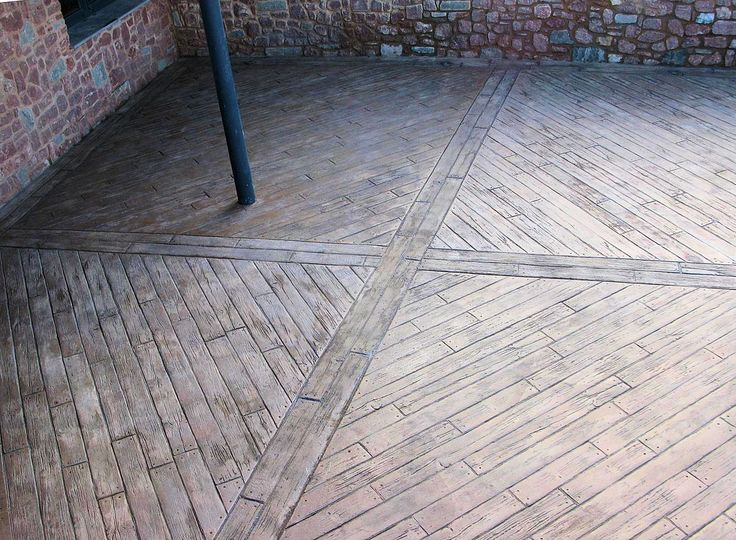 Best 25+ Wood stamped concrete ideas on Pinterest | Stamped ...