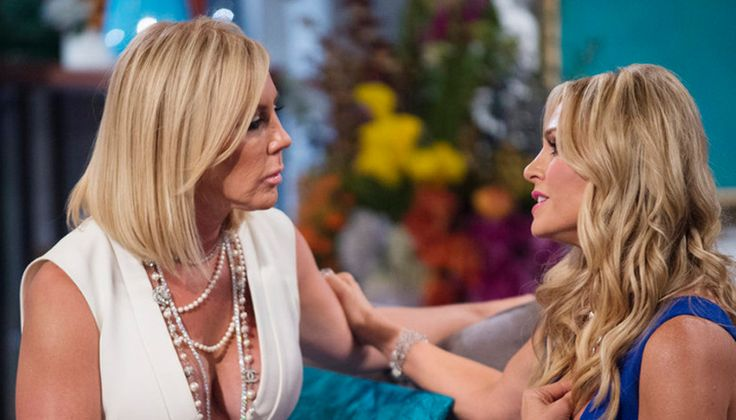 Feuding Friends on RHOC Vicki Gunvalson and Tamra Judge