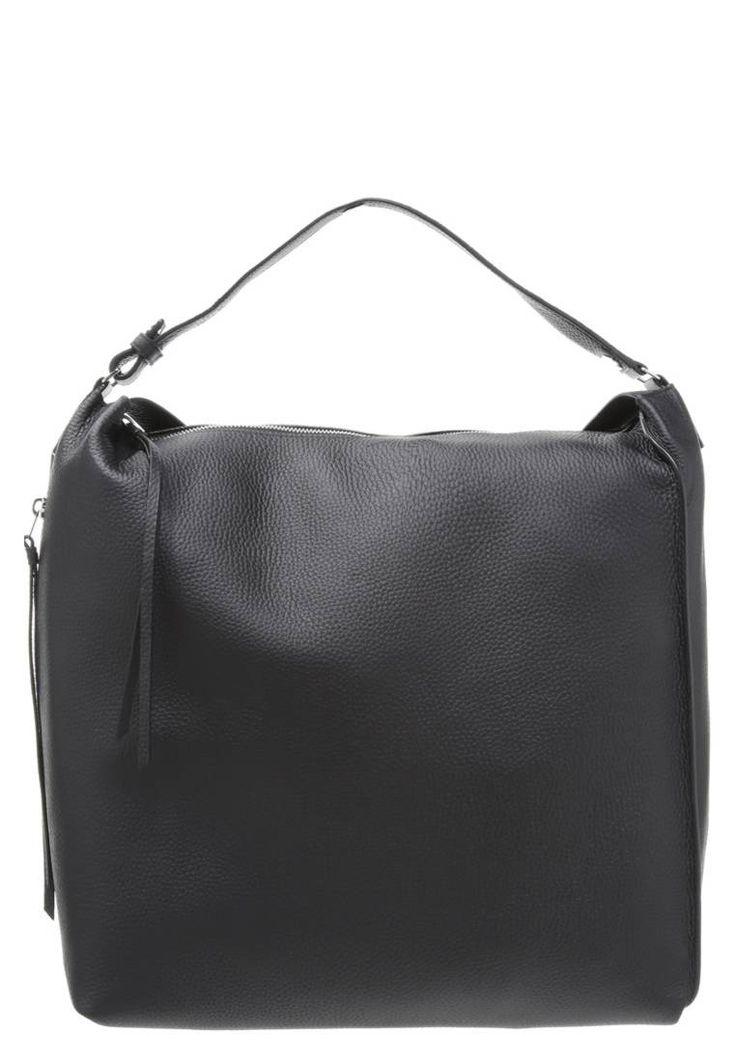 "KITA - Rucksack - black. #LeatherRucksacks #Rucksacks #LeatherBackpacks #Backpacks Fastening:Zip. height:14.0 "" (Size One Size). Outer material:leather. width:5.5 "" (Size One Size). length:12.5 "" (Size One Size). Pattern:plain"