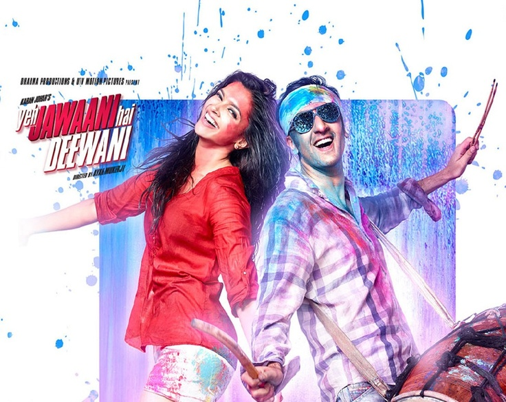 Yeh Jawaani Hai Deewani movie was produced by Hiroo Yash Johar and Karan Johar under the banner of Dharma Productions. It was co-produced by Apoorva Mehta.