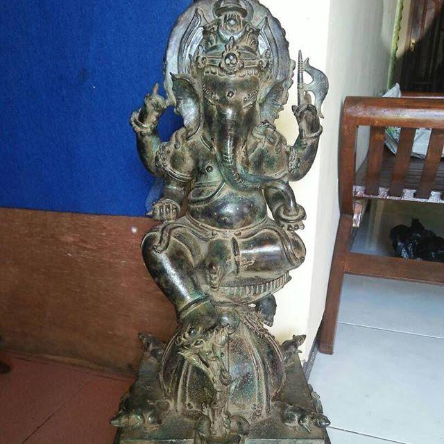 ***DEWA GHANESA BIG *** FOR SALE   bbm D344154C   WA +62 8585 2080 384  #dewa #ghanesa #big #for #SALE #patung #perunggu #majapahit #unik #langka #artefak #peninggalan #kuno #rare