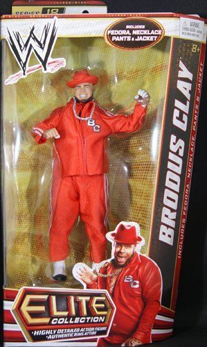 BRODUS CLAY - WWE ELITE 18 MATTEL TOY WRESTLING ACTION FIGURE by MATTEL. $22.99. BRODUS CLAY - WWE ELITE 18 MATTEL TOY WRESTLING ACTION FIGURE