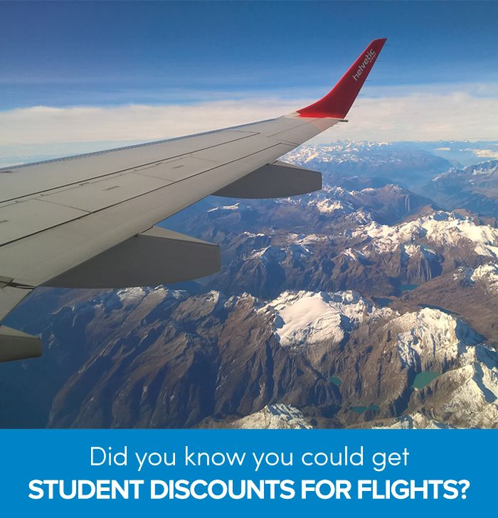 Did you know you can score great student airfare deals? If you're a student or under the age of 26, read these tips to help you find cheap flights and get student discounts on airfare.