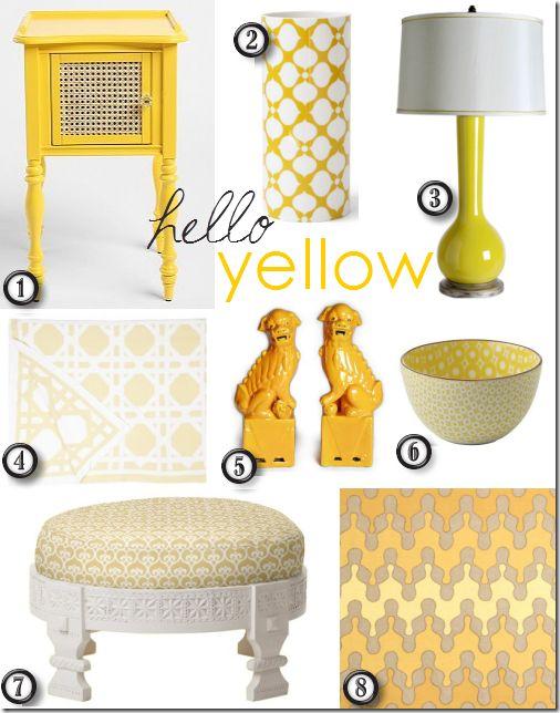 die 25+ besten ideen zu yellow home accessories auf pinterest