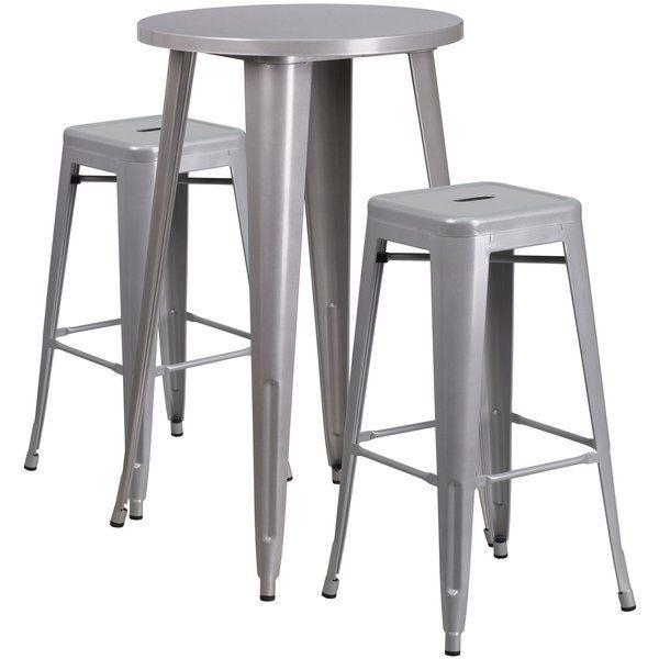 Gracie Oaks Mcalester 24 5 Bar Stool Upholstery Light Denim Blue Bar Stools Furniture Stool
