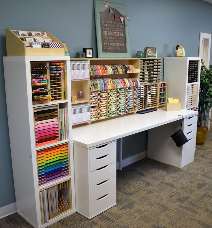 6939ff1a75e7cf07c5c4f213bc6b67f8 So far this week we've cleared our space, organized ink pads, markers, punch...