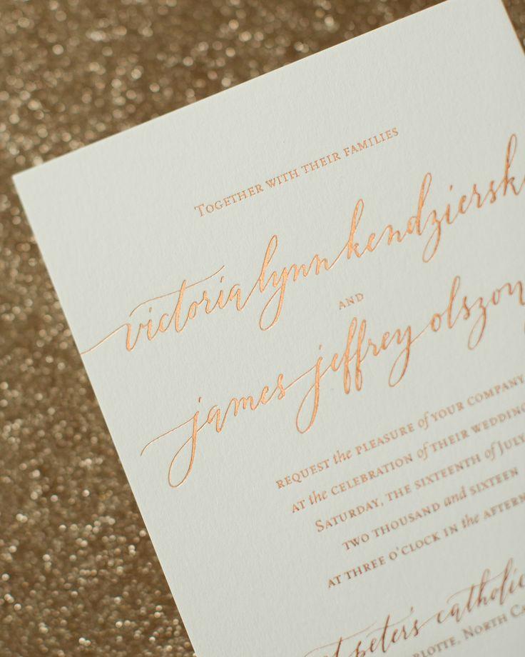 926 best Wedding Invitations images on Pinterest   Wedding ...