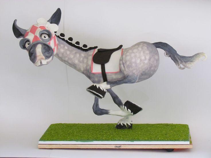 3D horse armature cake - workshop with the fabulous Kaysie Lackey by Liesjes Lekkernijen