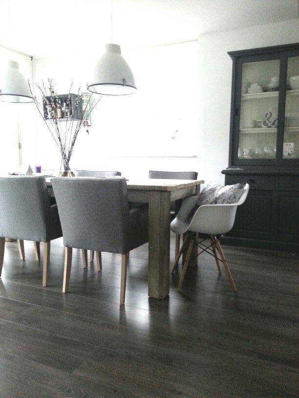 Leuke stoelen voor eettafel.  For Our Home - Mood Board  Pinterest