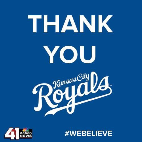 We believe again.  Kansas City Royals.