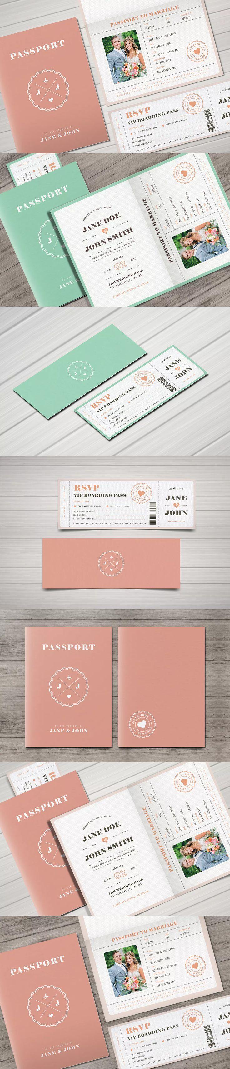 71 best Wedding Invitation Card Templates images on Pinterest