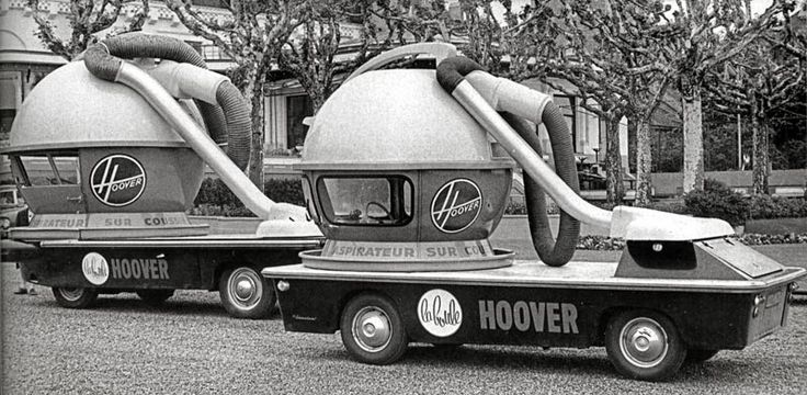 Promotional vehicles used in France in the 1950s and 1960s designed by Felix Aublet