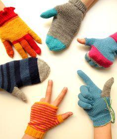 Handschuhe stricken leicht gemacht - Step by Step erklärt im Video-Kurs via Makerist.de