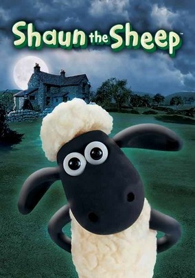 """Shaun the Sheep (2007) The shorn sheep made famous in Nick Park's stop-motion """"Wallace and Gromit"""" franchise gets his own spin-off with this animated series about Shaun's woolly misadventures down on the farm with all of his barnyard friends."""