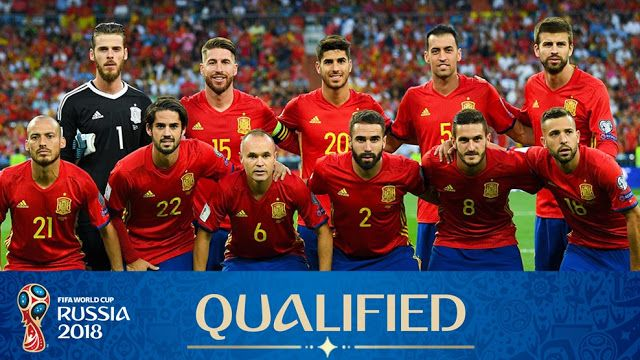 a940d2f87f6 Spain World Cup Squad 2018. Spain is 2010 World Cup Champions. They have  won the world cup only once when they reached the final in first time.