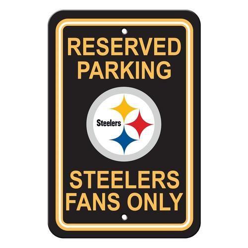 Pittsburgh Steelers Fan Parking Signs