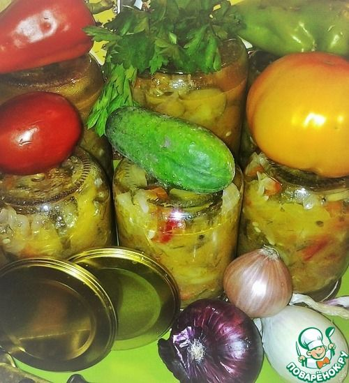 "Салат ""Три друга"" - кулинарный рецепт"
