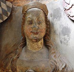 Johana Bavorská, manželka Václava IV., římského a českého krále, lucemburského vévody a braniborského markraběte