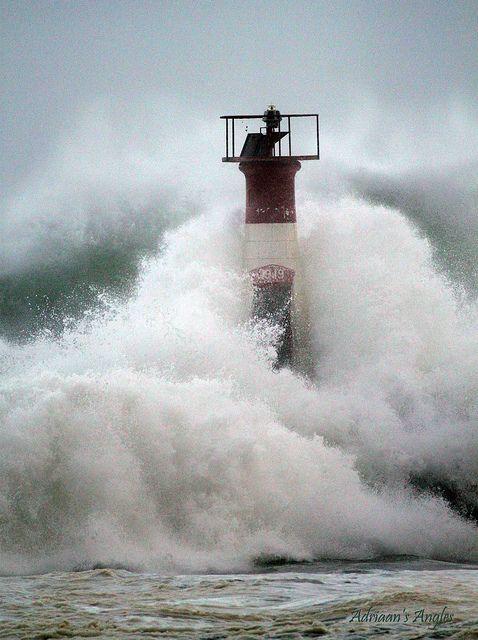 Kalk Bay Harbour Lighthouse