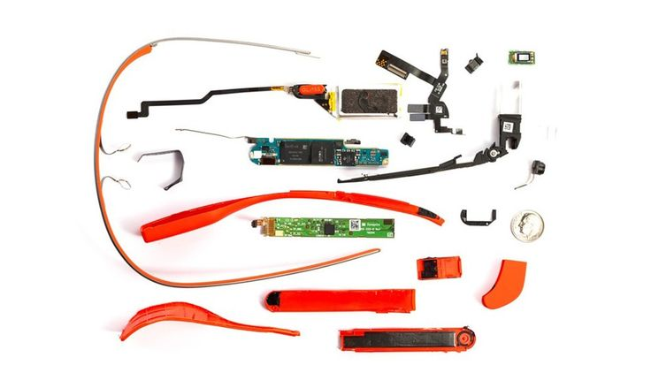 What is inside Google Glass