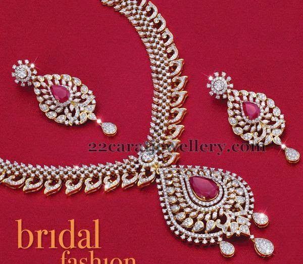 Spectacular Diamond Set Worth 15lakhs