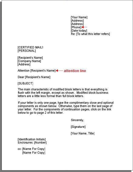 25+ melhores ideias de Business letter format example no Pinterest - business letters