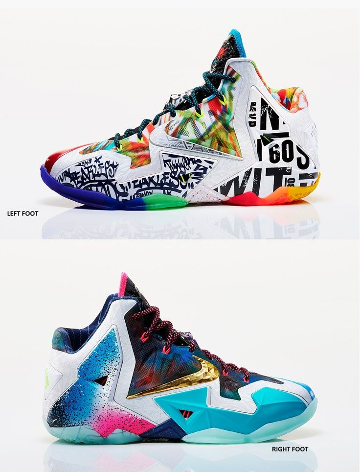 "Nike LeBron 11 ""What The LeBron"""