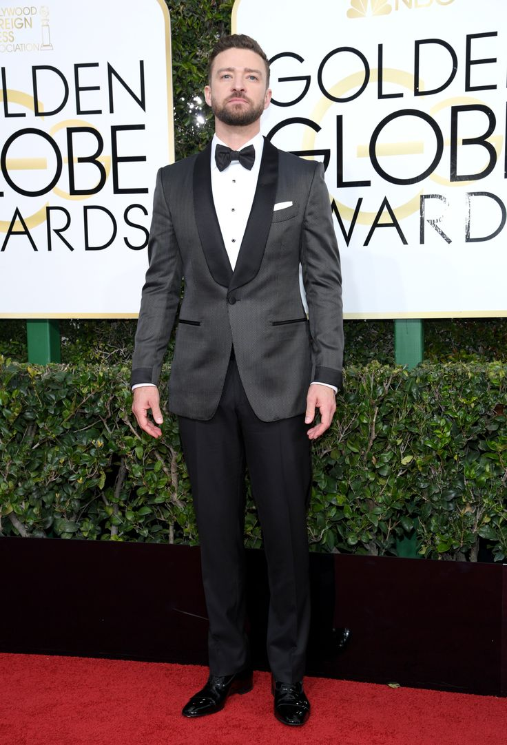 Can Justin Timberlake look any better? The singer looked handsome in a sharp tuxedo pinstripe jacket and classic trousers#goldenglobes #merylstreep #hollywood #felizmartes #tuesdaymotivation #mondaymotivation #rt #strangerthings #goldenglobes2017 #polandlovesskam #donaldtrump #trump #smog #hautecouture #couture #redcarpet #movies #movie #tv #series #comedy #drama #goldenglobes2017 #iheartawards #awards #quote #competition #stargiveaway #bestfanarmy #fabricstore #dress #gown #men #mensfashion