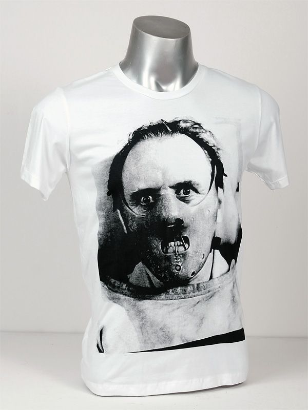 Anthony Hopkins Hannibal Lecter t-shirt