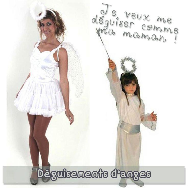 Ces déguisements d'anges sont les costumes parfaits pour les mamans et les petites filles sages !