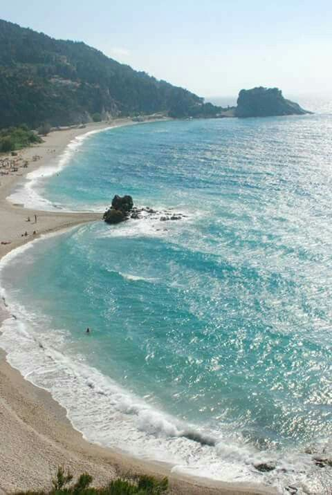 Potami beach, Samos island, Greece