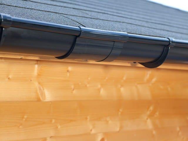 1000 bilder zu kunststoff dachrinnen schwarz auf pinterest laufen rohre und outlets. Black Bedroom Furniture Sets. Home Design Ideas