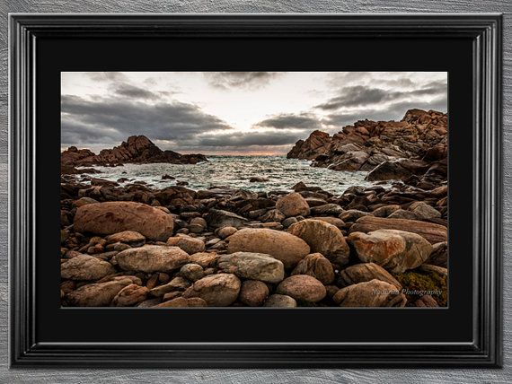Coastal Waters Photography Print for wall by NadbradDesigns
