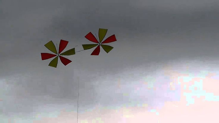 Big Rotor Kite (by Rudiger Groning, Inventor of the Magic Wing Kite)