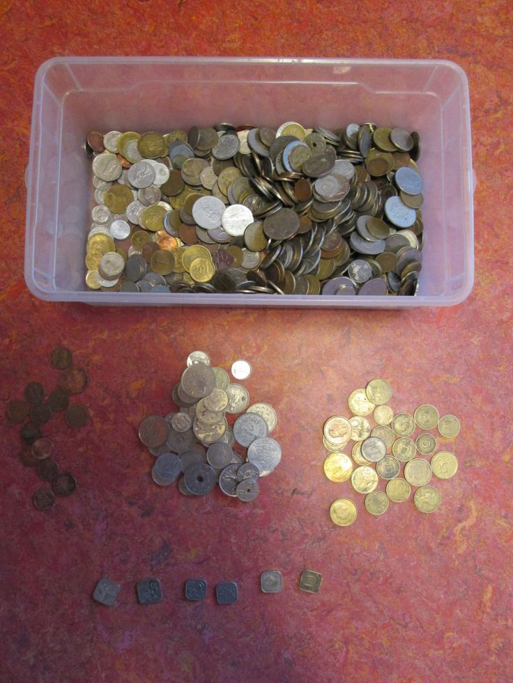 verzameldoos munten   vergelijken, ordenen, tellen, etc. Nutsschool Maastricht