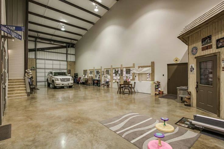 Escape Ebola With This: A Dang 4200 Square Foot Barndominium With Concrete Floors You Can Bleach...