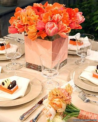 """See the """"Tulip Centerpiece"""" in our Easter and Spring Centerpieces  gallery"""