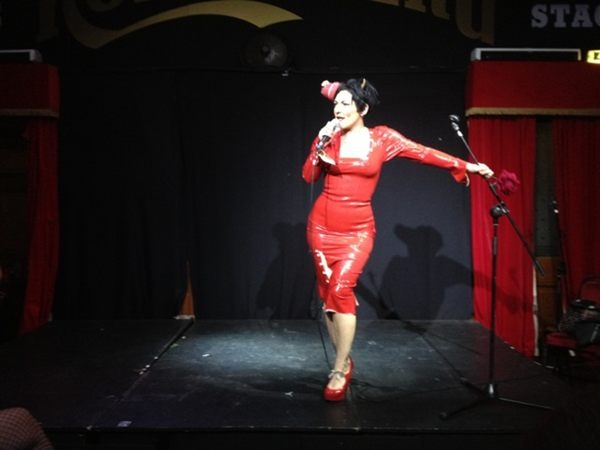 Miss Behave presents the Malcolm Hardee Awards Show at the Edinburgh Fringe, 24th August 2012