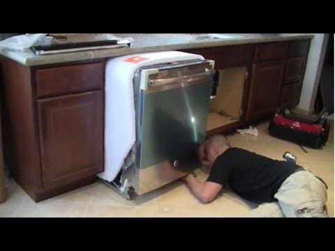 Dishwasher Water Inlet Valve Replacement – LG Dishwasher Repair (part #5221DD1001F) - YouTube