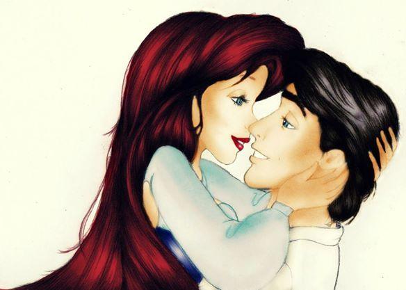 Ariel y su principe azul