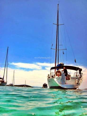 Workaway in Croatia. Learn how to sail, helping on a yacht around the coast of Croatia