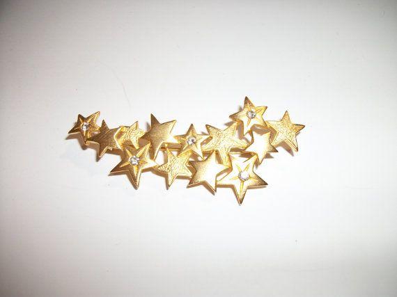 Mes étoiles Broche de strass céleste par 4thefoundation sur Etsy