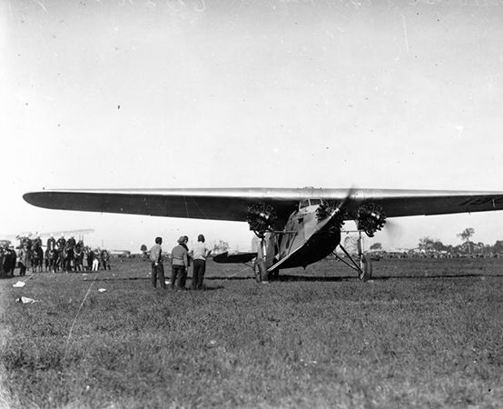 Charles Kingsford Smith's airplane