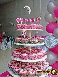 172 best images about nuevas tendencias en decoracion de for Decoracion en cupcakes
