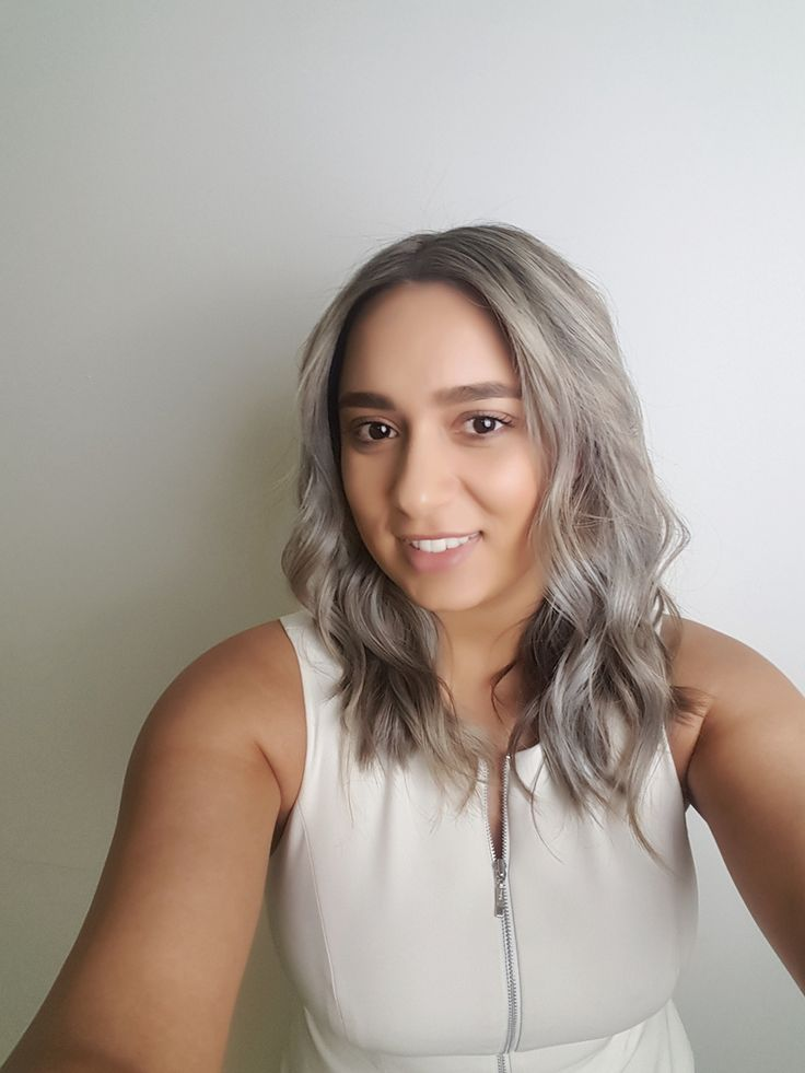 #silverhair #pastelhair #grayhair #greyhair #ashblondehair by Jacqui Laveau at #AFOH