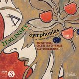 Alexander Zemlinsky: Symphonies in D minor and B flat major [CD]