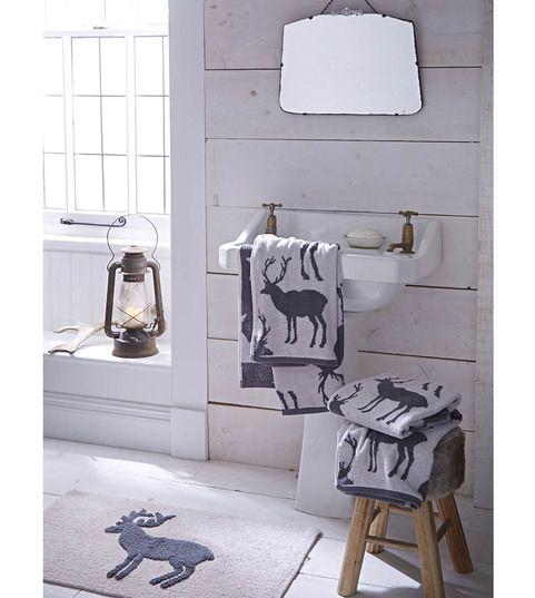 """Ręcznik """"Stag Grey"""", 70x120 cm"""