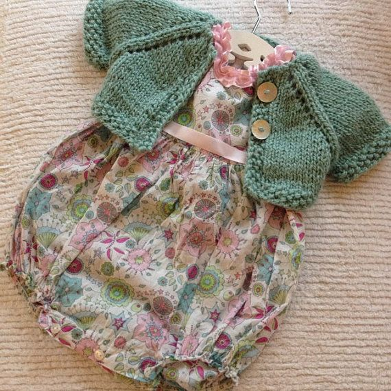 Knitting Pattern Ukhka 69 : 64 best images about Baby Girl - Shrugs on Pinterest