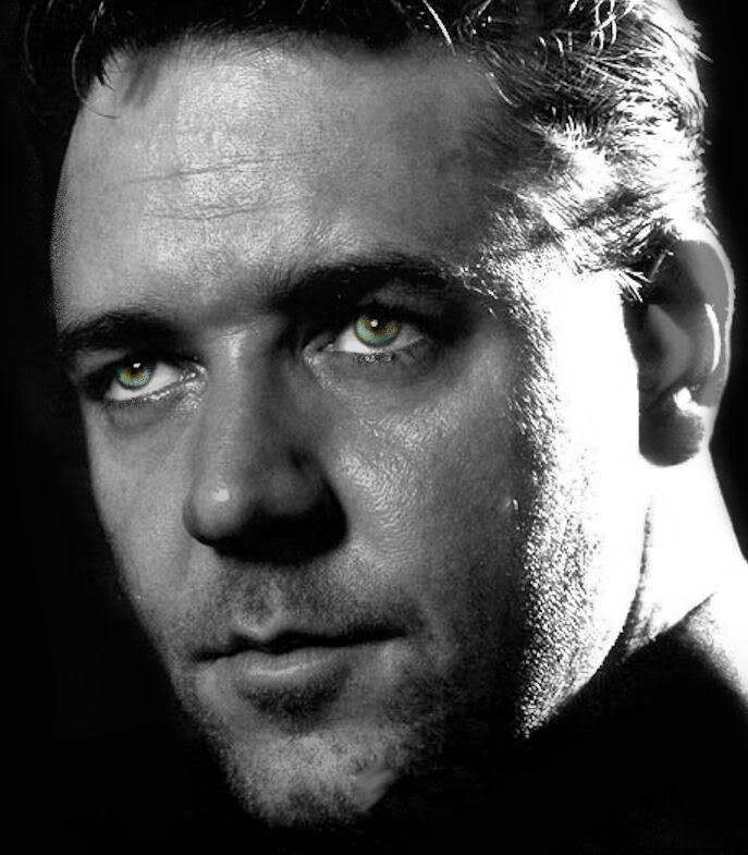 Russell Crowe. I've never seen this picture before.  I know it was taken a long time ago, but DAMN!