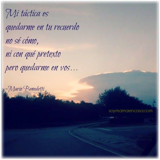 Algo de Mario Benedetti #poemas #romance #amor